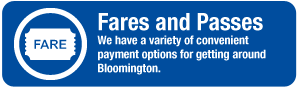Read about our Fares and Passes